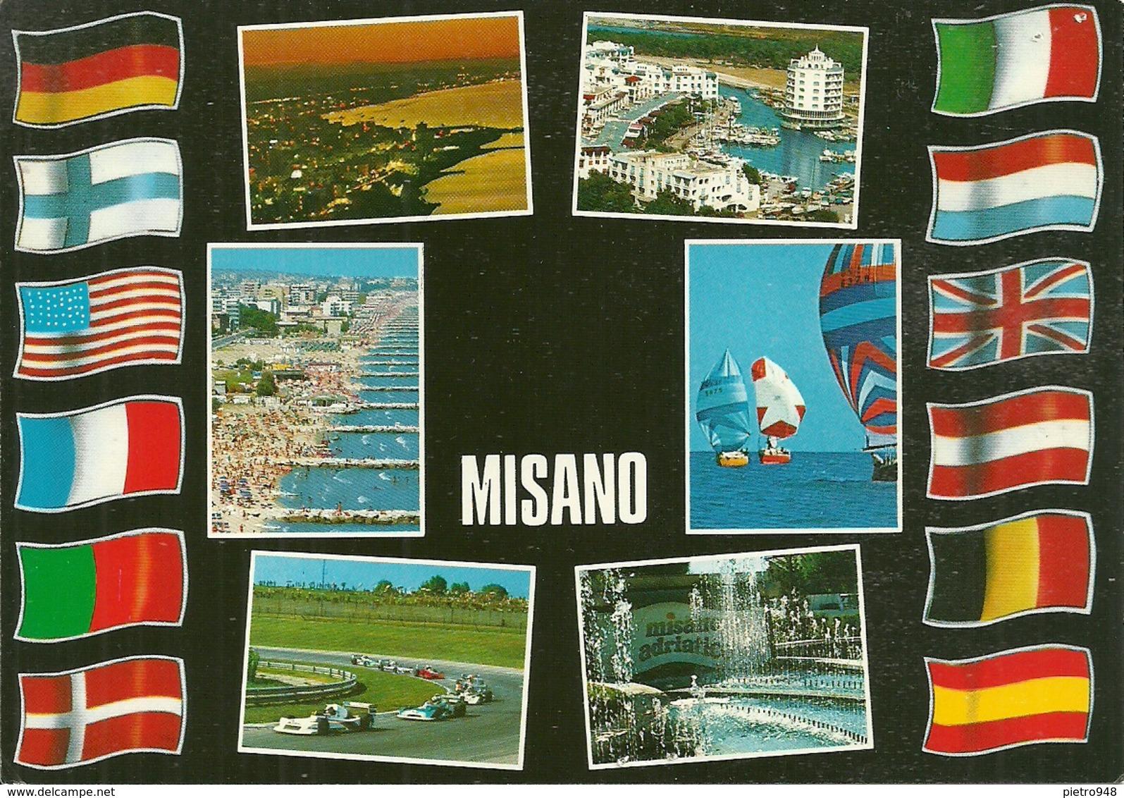 Misano Adriatico (Rimini) Vedute E Scorci Panoramici - Rimini