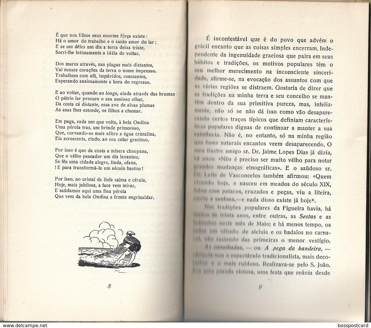 Figueira Da Foz - Das Suas Tradições Populares - Dos Seus Encantos Coimbra Portugal - Poetry