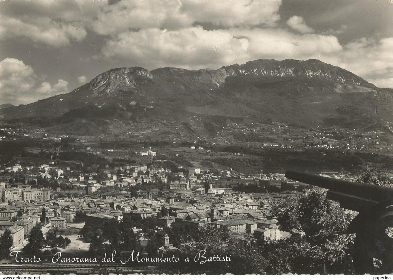 TRENTO PANORAMA DAL MONUMENTO A BATTISTI (268) - Trento