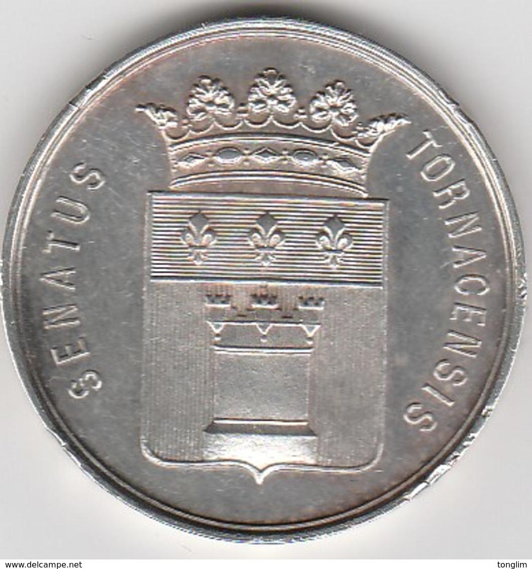 TOURNAI   SUPERBE MÉDAILLE  1895 - Belgique