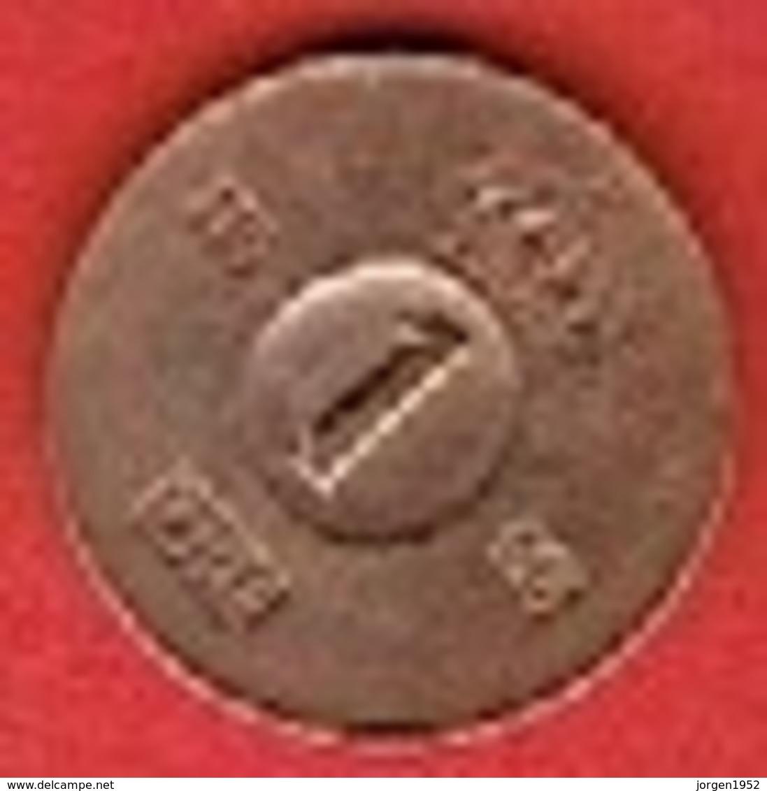 SWEDEN #  1 ØRE FROM 1966 - Suède