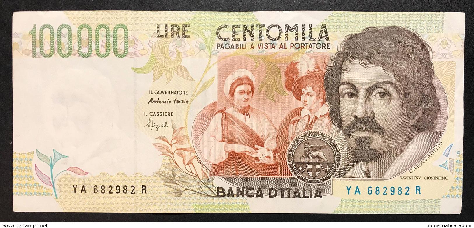100000 Lire CARAVAGGIO 2° TIPO SERIE A 1994  LOTTO 2226 - 100000 Lire