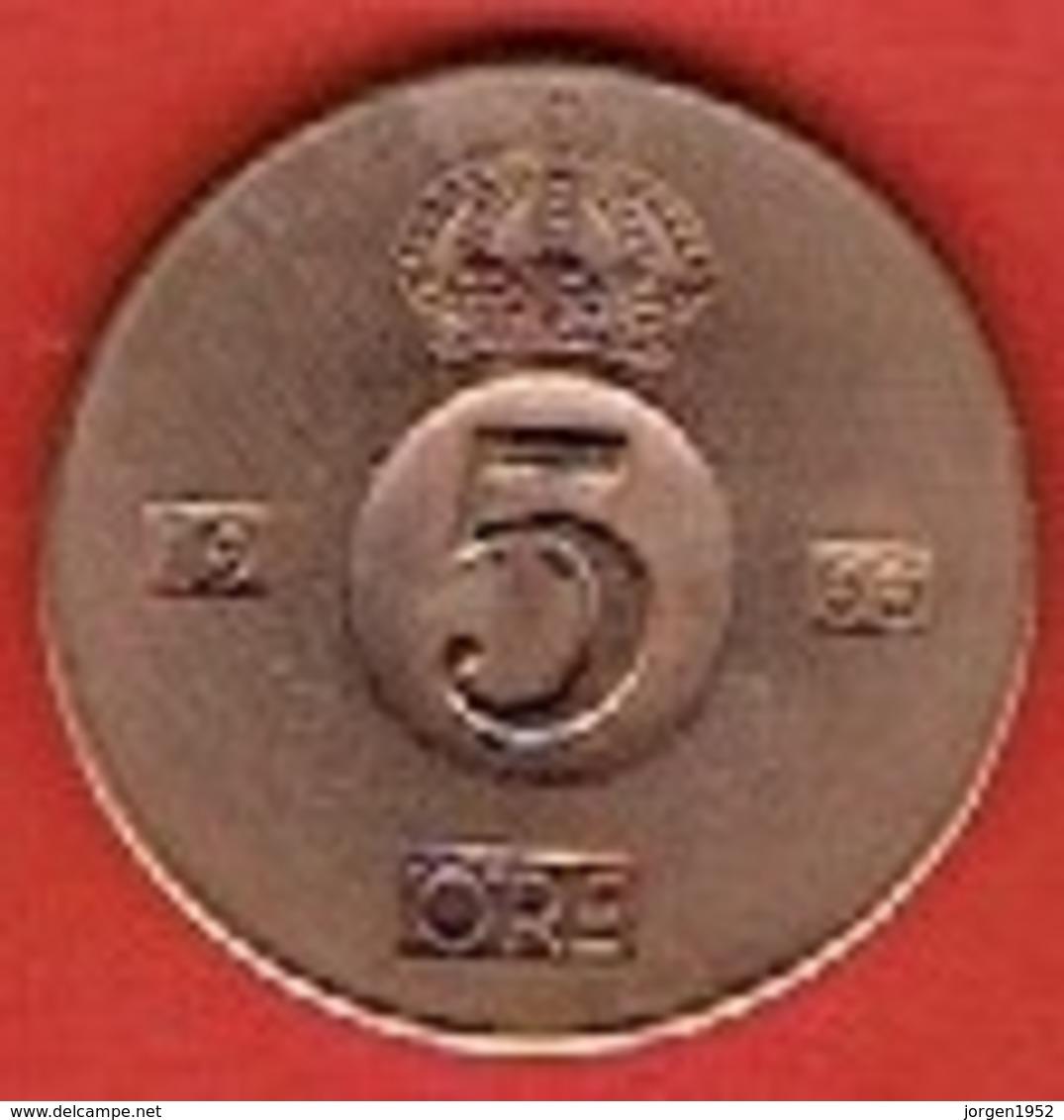 SWEDEN #  5 ØRE FROM 1966 - Suède