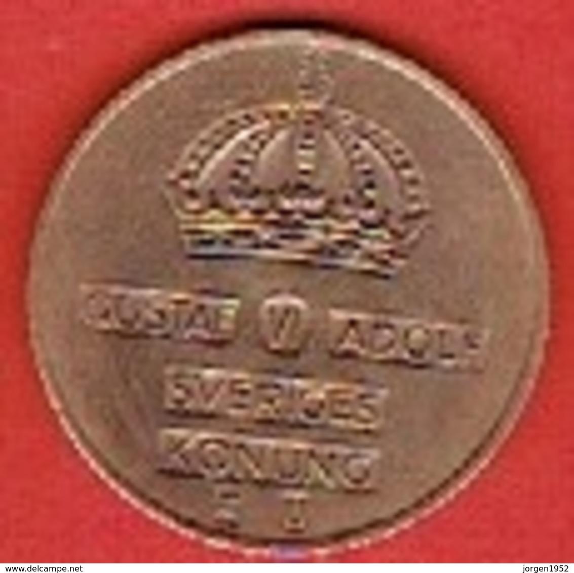 SWEDEN #  5 ØRE FROM 1970 - Suède