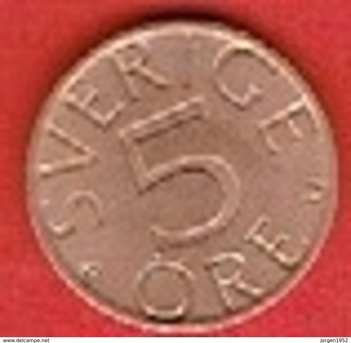 SWEDEN #  5 ØRE FROM 1978 - Suède