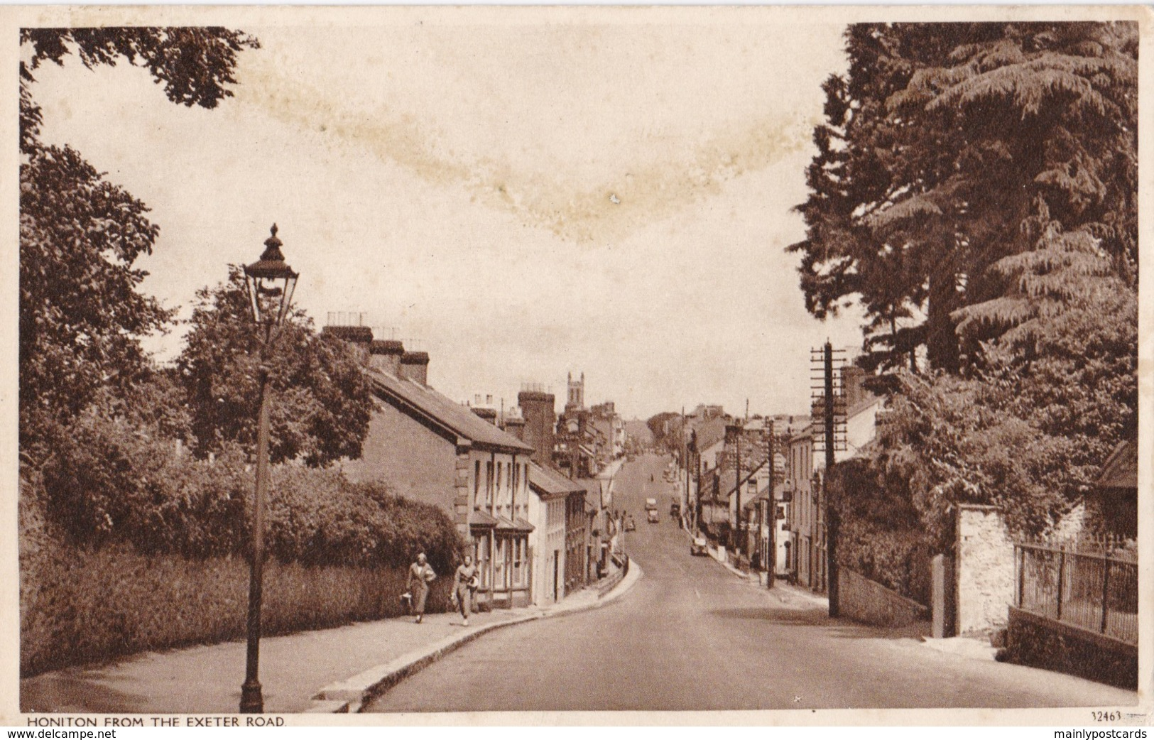 AQ08 Honiton From The Exeter Road - Local Publisher - England