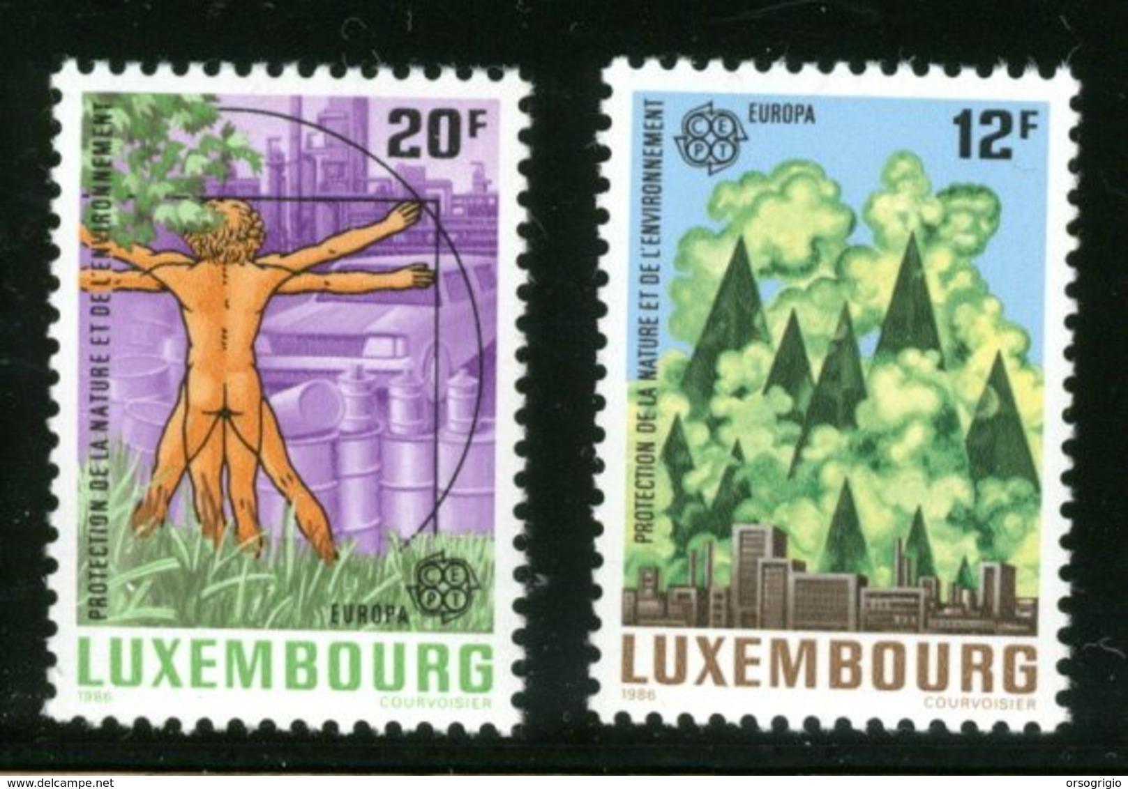LUXEMBOURG - LEONARDO DA VINCI - UOMO VITRUVIANO - Nuovi MNH - Celebrità