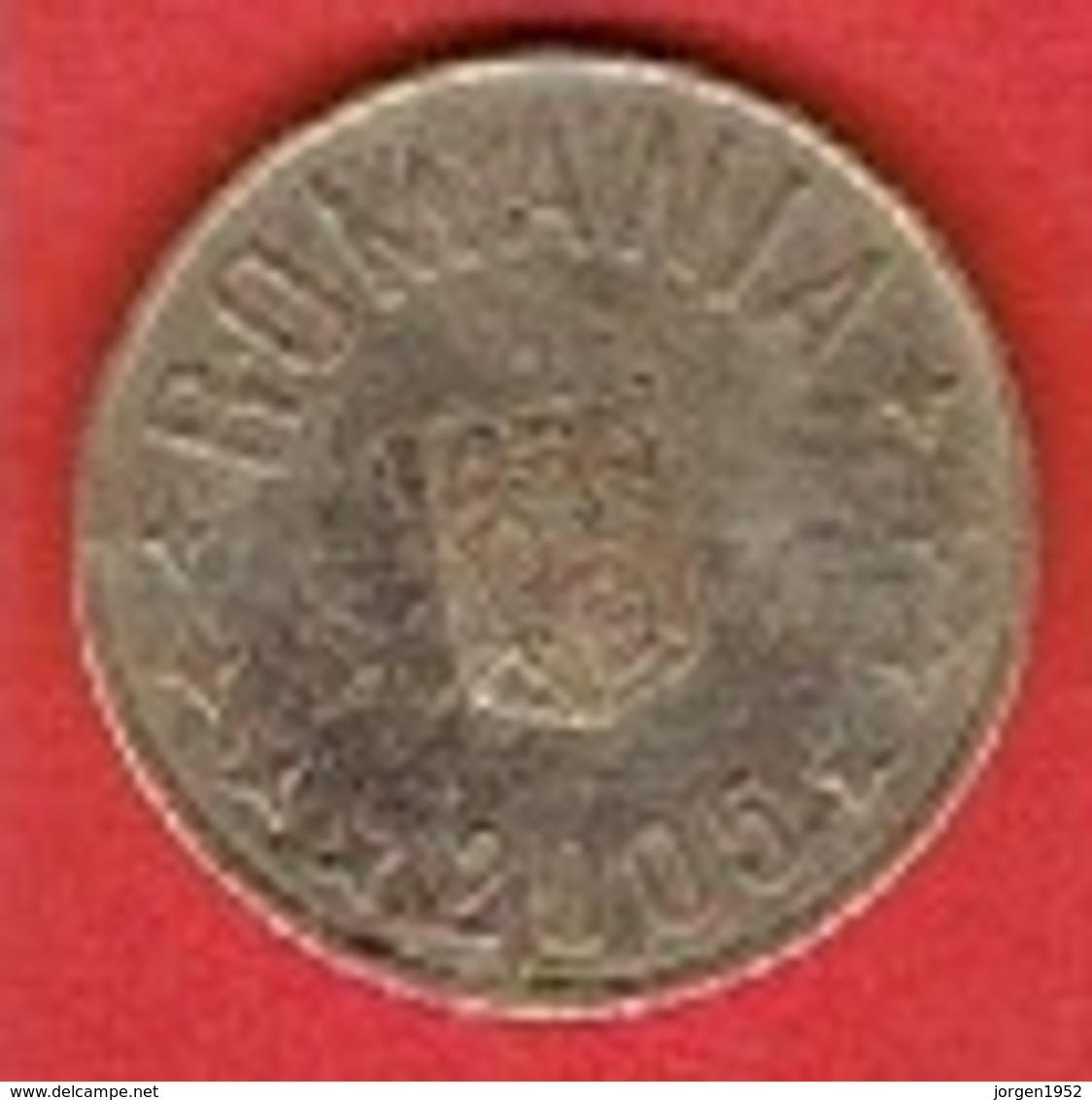 ROMANIA #  50 BANI FROM 2005 - Roumanie