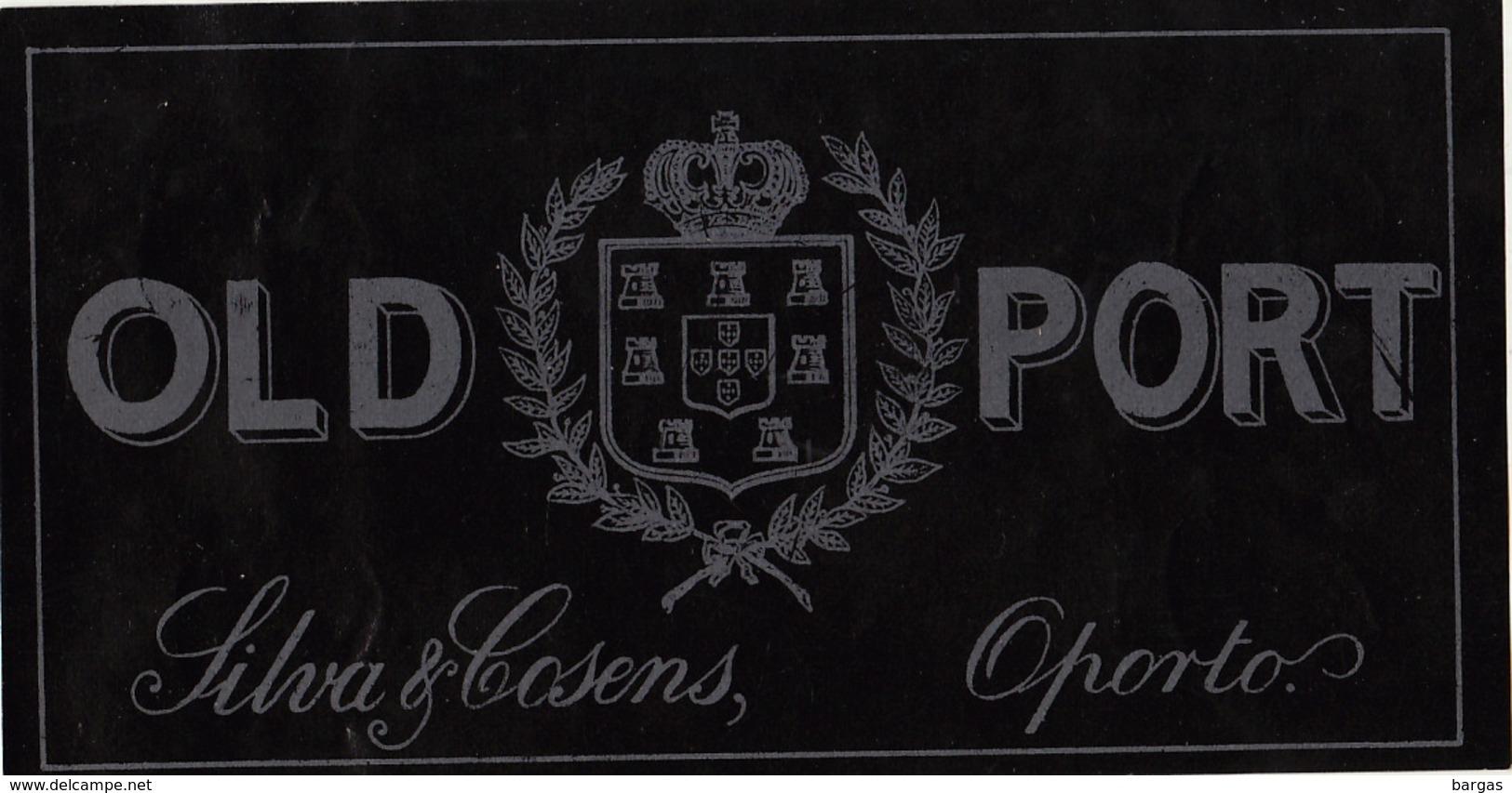 1893-1894 étiquette Ancienne PORTO - Etiquettes