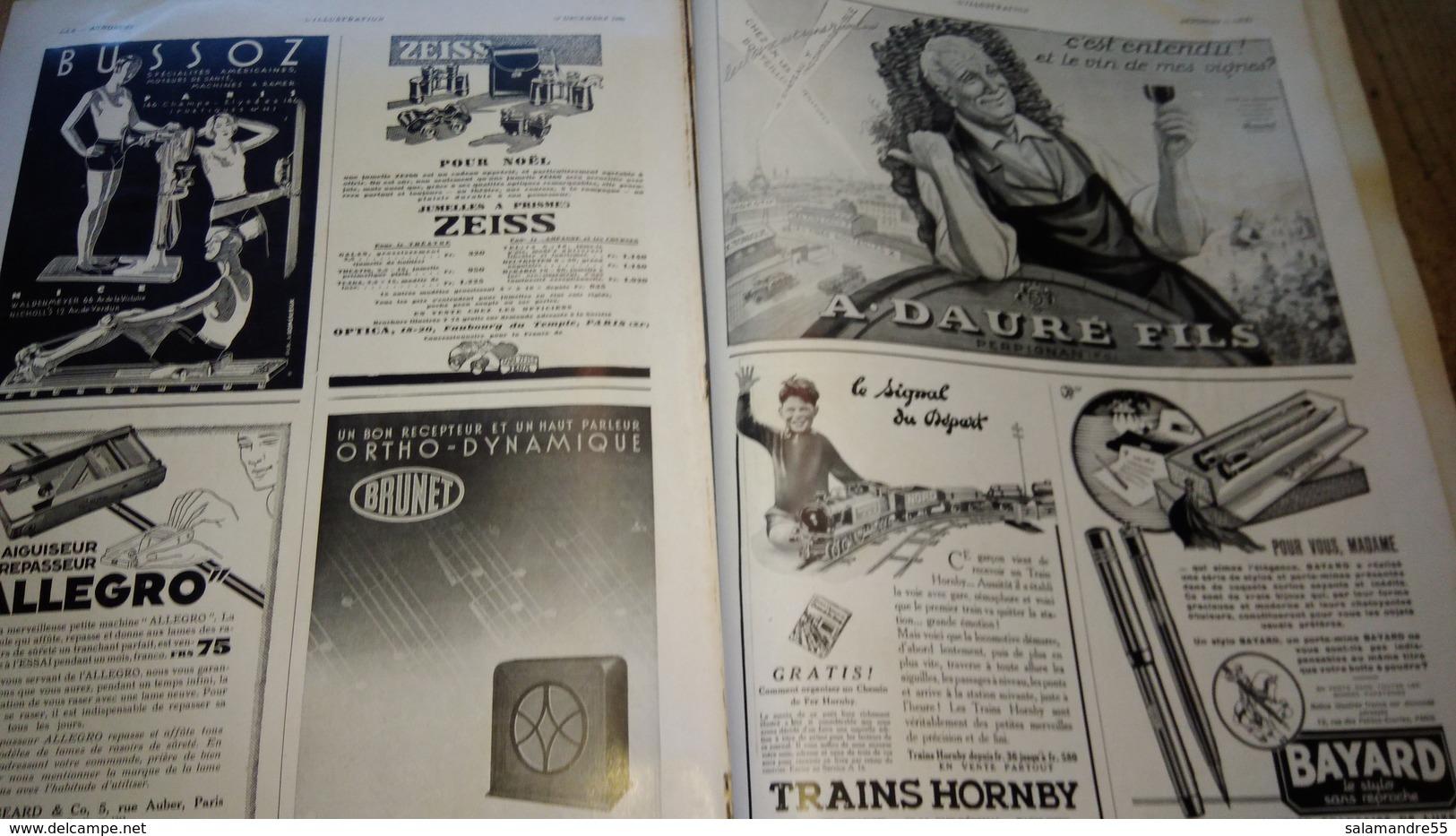 L'illustration L'aéronautique 1930 Pub Parfums Et Autres - Livres, BD, Revues