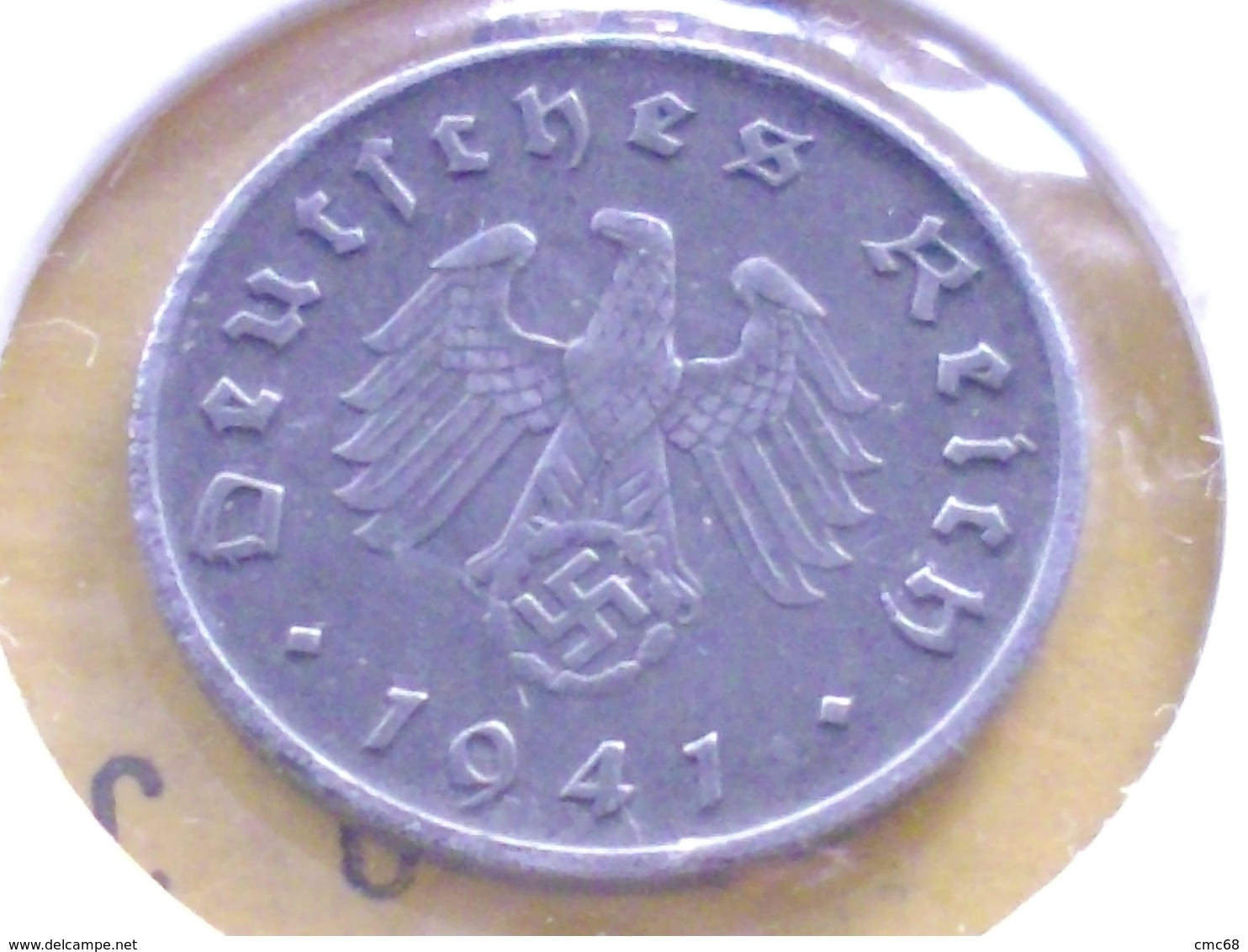 ALLEMAGNE  10   RAICHSPFENNIG  1941 A - [ 4] 1933-1945 : Third Reich