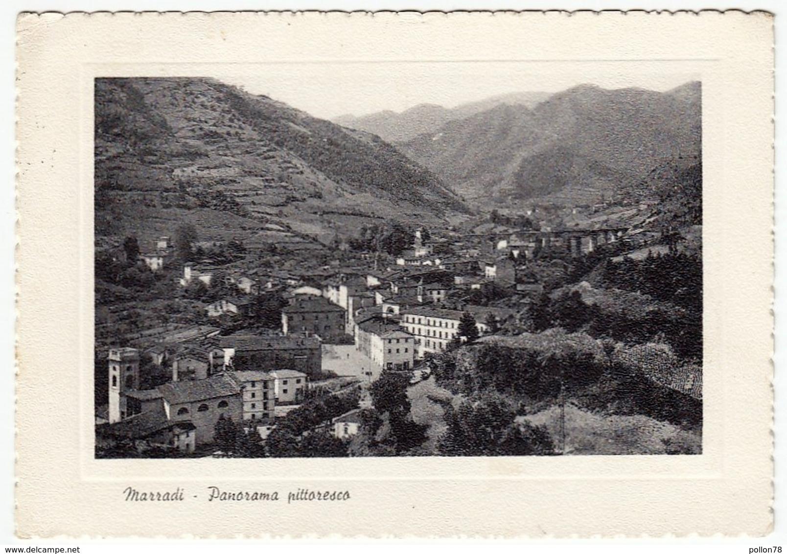 MARRADI - PANORAMA PITTORESCO - FIRENZE - 1962 - Firenze