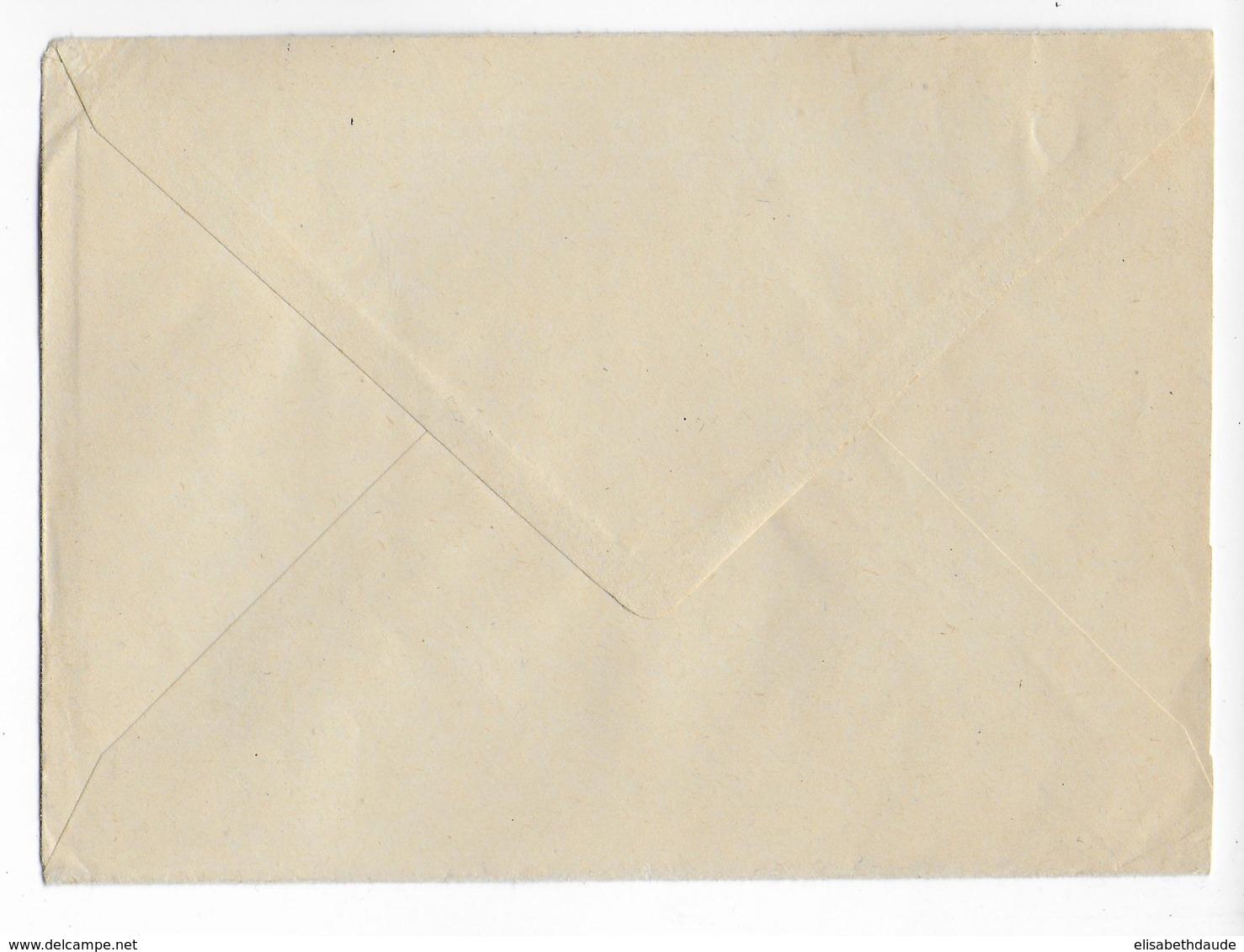 BÖHMEN Und MÄHREN - 1943 - ENVELOPPE RECOMMANDEE CONTRE-REMBOURSEMENT De PRAGUE => FORBACH (MOSELLE) - Bohême & Moravie