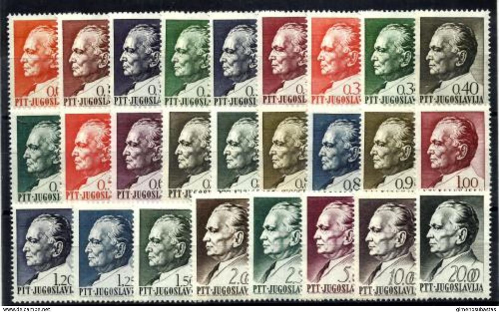Yugoslavia Nº 1143/68 En Nuevo - 1945-1992 República Federal Socialista De Yugoslavia