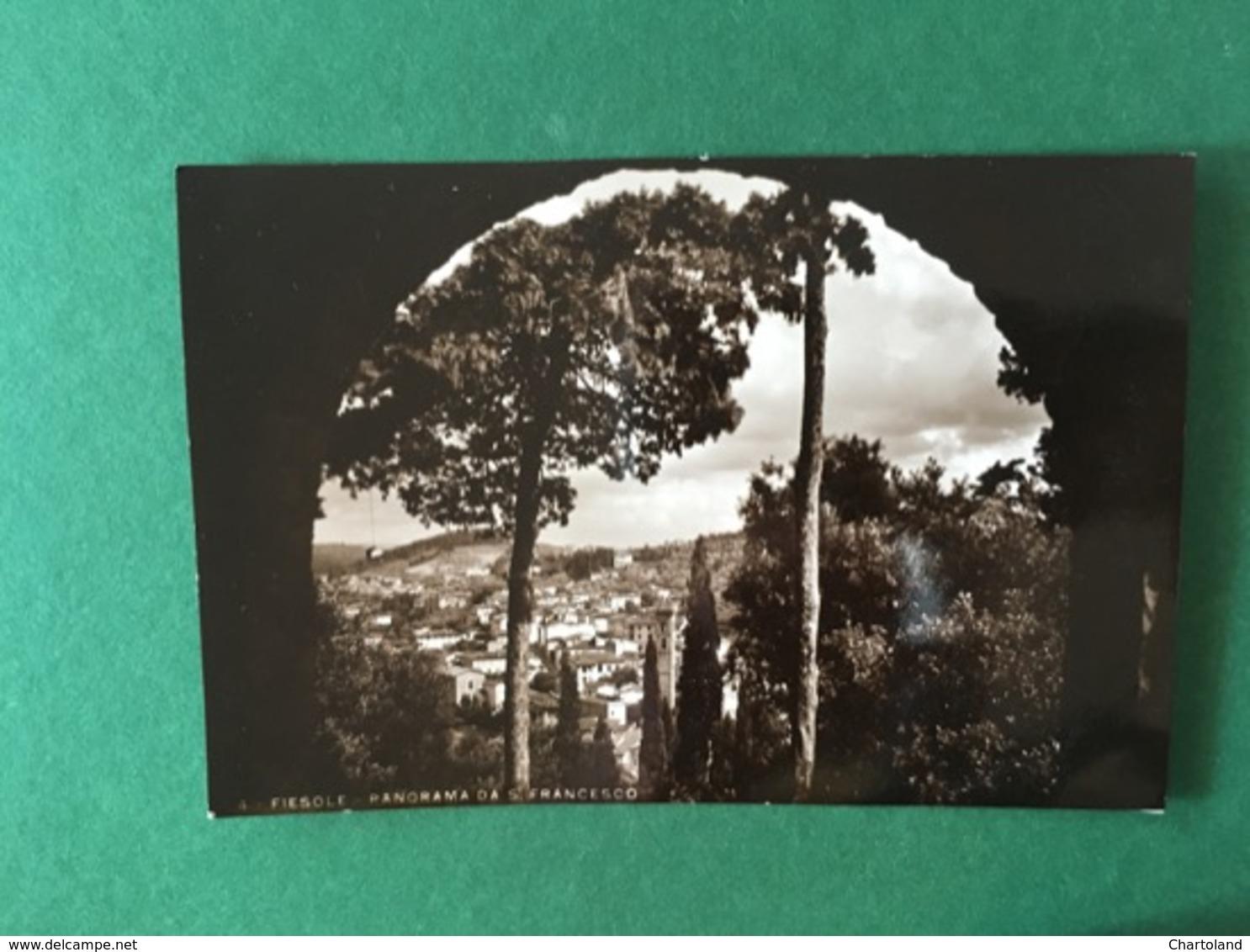 Cartolina Fiesole - Panorama Da San Francesco - 1965 - Firenze