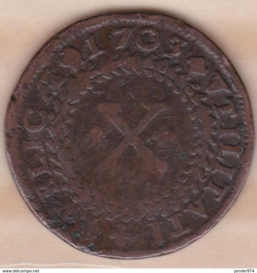 Portugal 10 Reis 1703 . Pedro II . KM# 168 - Portugal