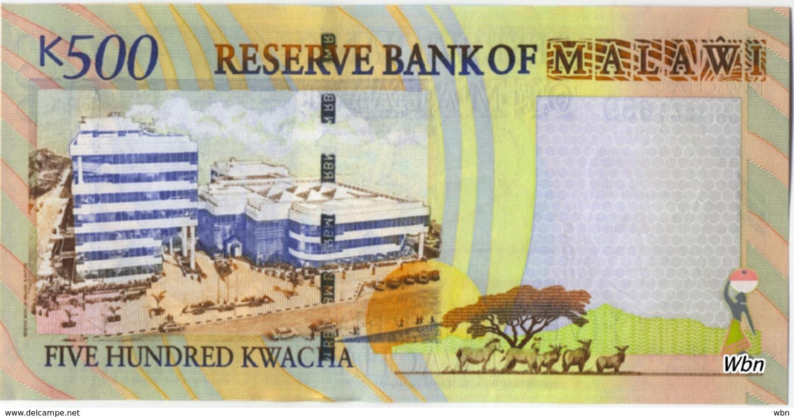 Malawi 500 Kwachas (P48) 2005 -UNC- - Malawi