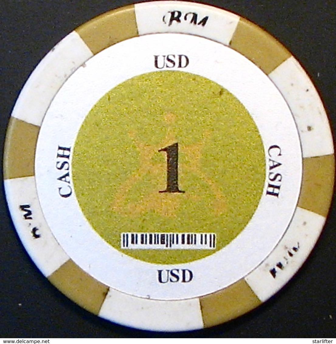 $1 Casino Chip. Bao Mai, Bavet, Cambodia. N41. - Casino