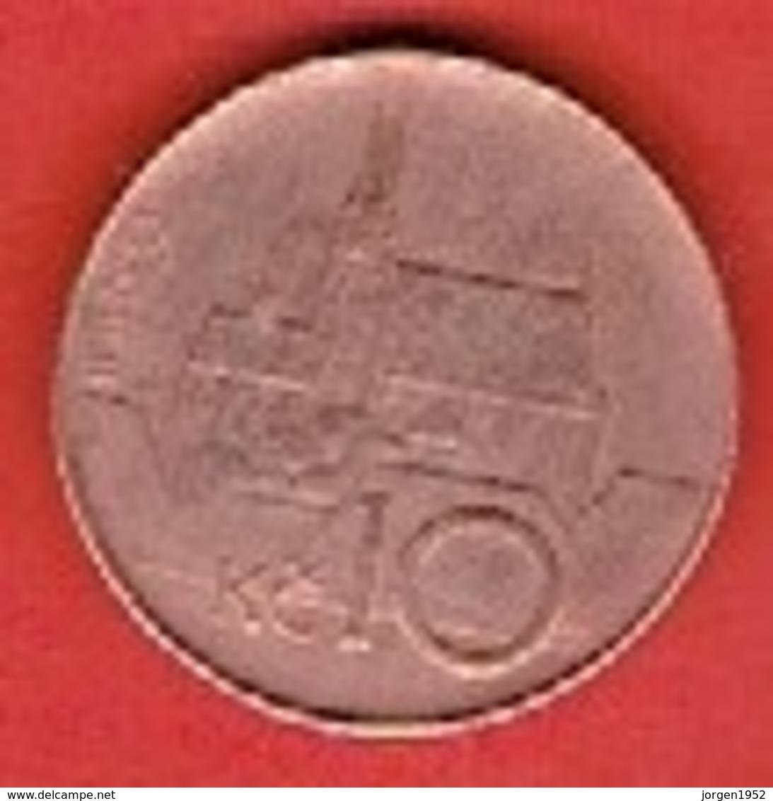CZECH REPUBLIC  # 10 KC FROM 1993 - Tchéquie
