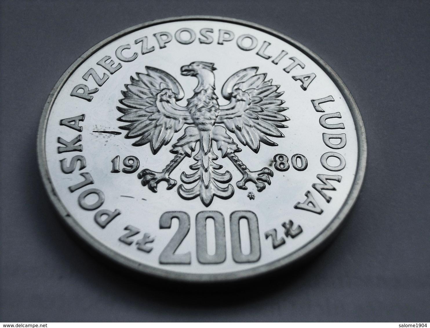 POLEN 200 Zlotych 1980 Kazimierz I Odnowieciel PP / PROOF - Polen