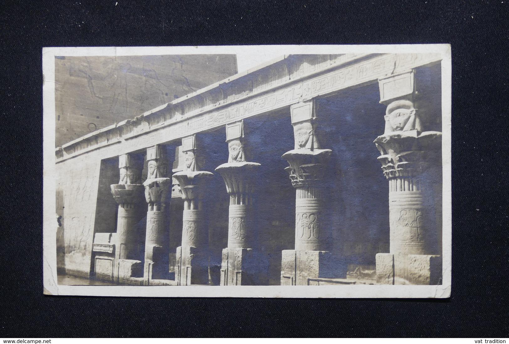 EGYPTE - Affranchissement D 'Armant Sur Carte Postale En 1920 Pour Paris - L 21367 - Égypte