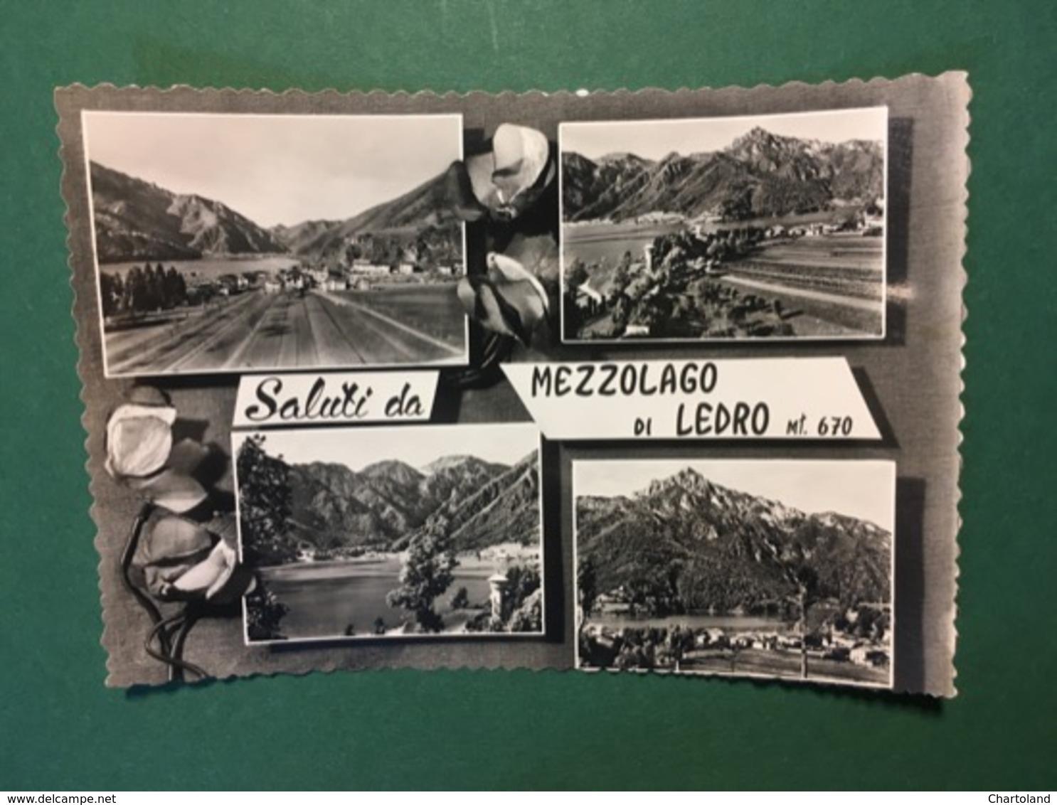 Cartolina Saluti Da Mezzolago Di Ledro - 1960 - Trento