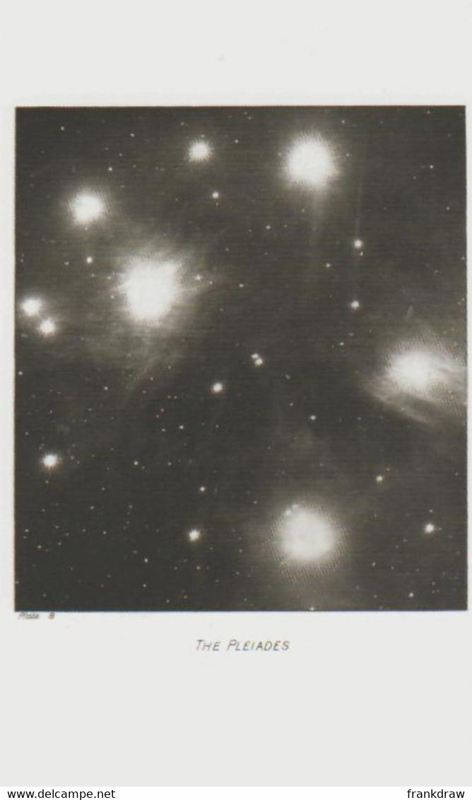 Postcard - The Night Sky - The Pleiades 1908 - Unused New - Postcards