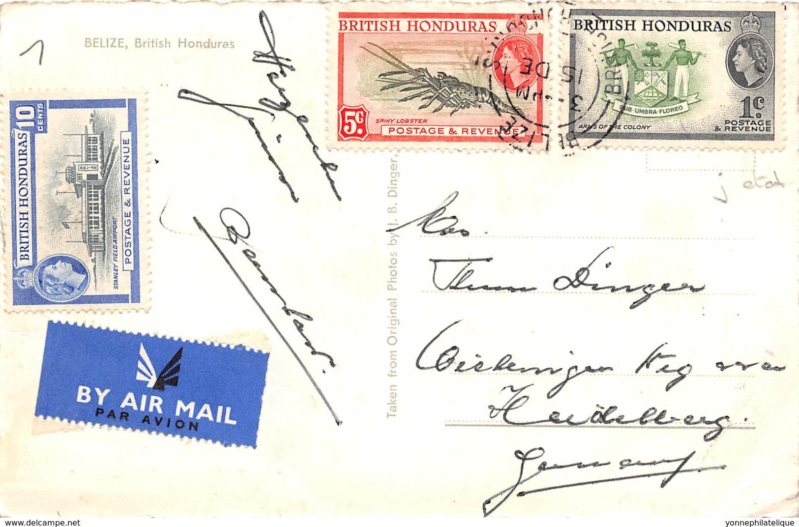 British Honduras / 01 - Belize - Défaut - Honduras