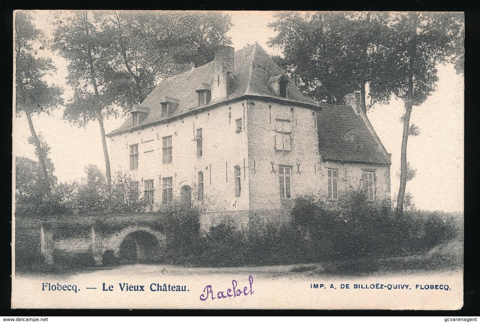 FLOBECQ  - LE VIEUX CHATEAU - Flobecq - Vloesberg
