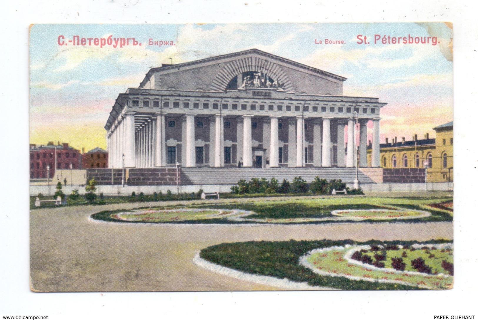 RU 190000 SANKT PETERSBURG, La Bourse, 1909 - Russland