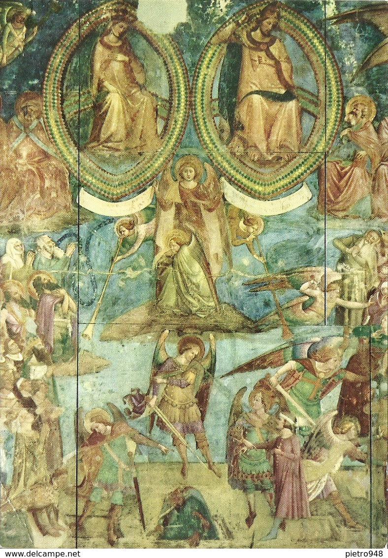 """Pisa (Toscana) Camposanto Monumentale, """"Il Giudizio Universale"""" (part.) Traini - Pisa"""