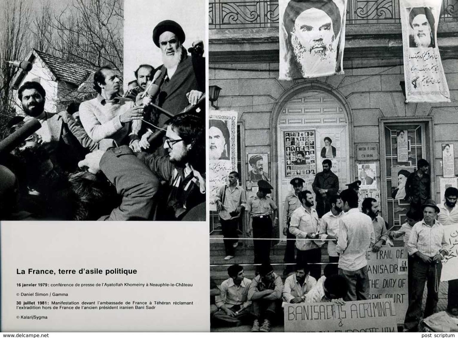 Vieux Papiers -  Document Iconographique / Photo (reproduction) - Ayatollah Khomeiny à Neauphle Le Château - Other