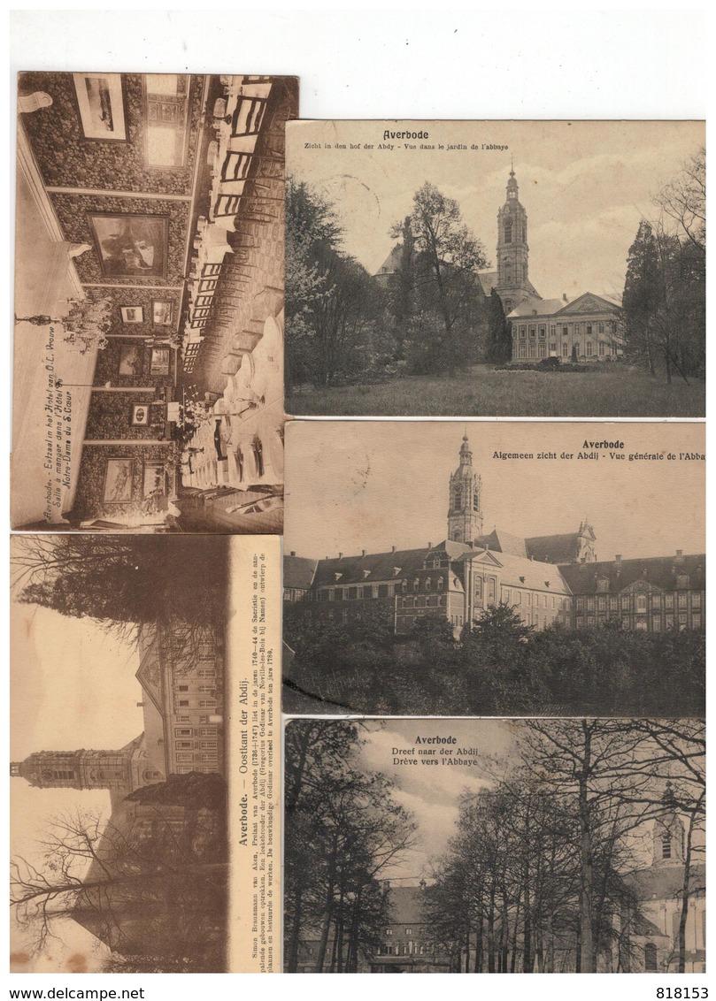 Averbode 26 Oude Postkaarten - Cartes Postales