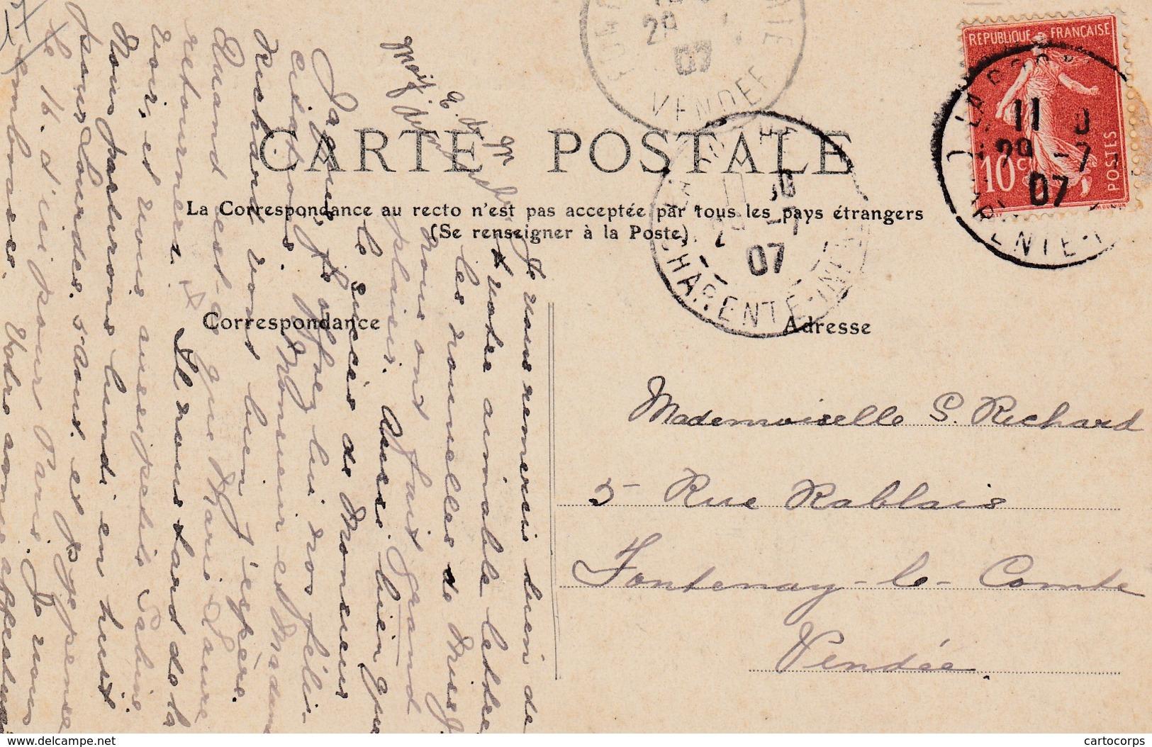 """17 - La Palice-Rochelle - Sous-Marin Le """" Le Lutin """" Sortant Du Port - La Rochelle"""