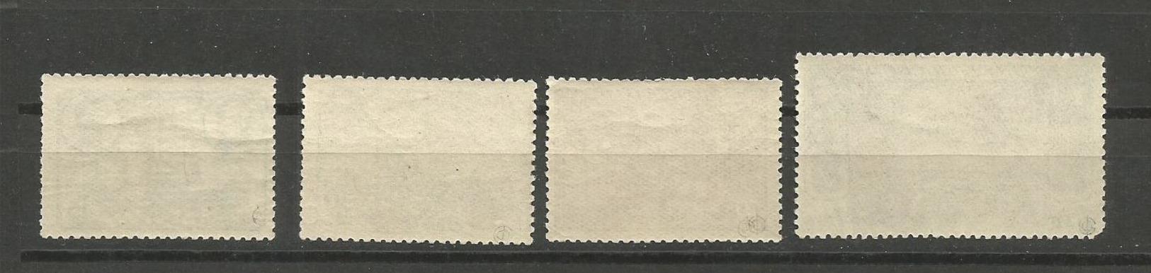USSR RUSSIA 1940 COMPLETE SERIES POLAR DRIFTAGE OF SOVIET ICEBREAKER, SEDOV UNUSED - Unused Stamps