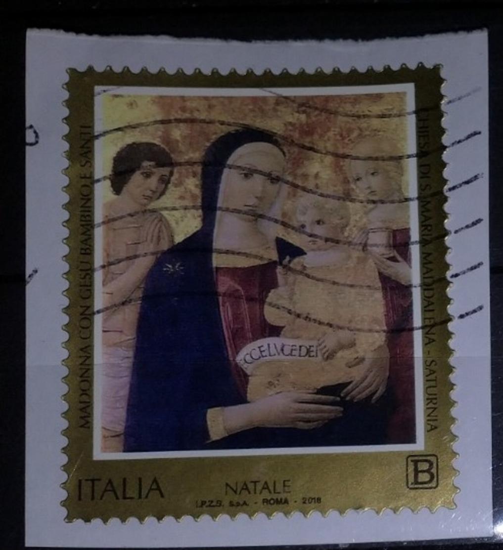 Italia 2018 Natale. Valore Usato - 6. 1946-.. Repubblica