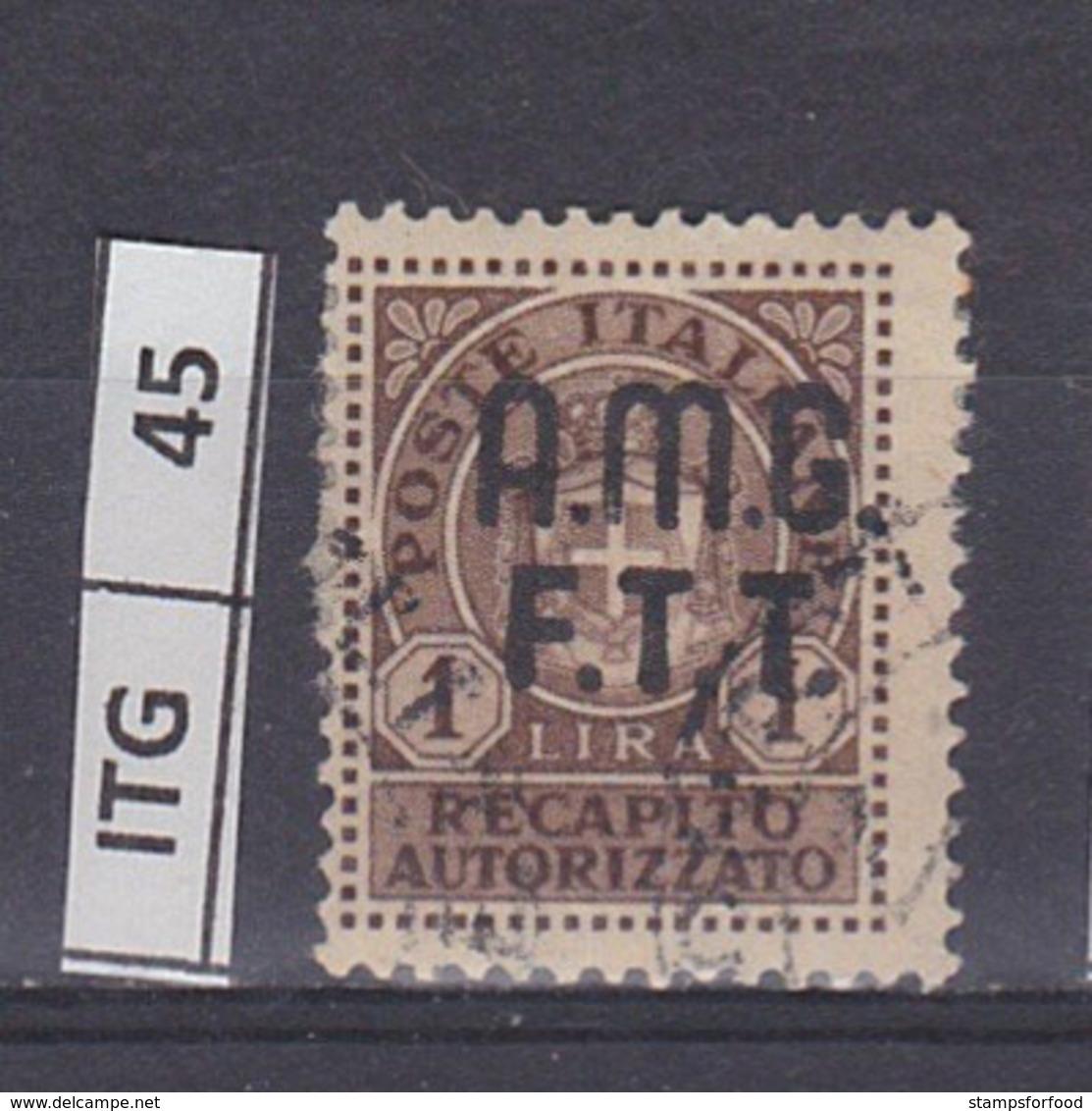ITALIA   1947AMG FTTRecapito Autorizzato 1 L Usato - Gebraucht