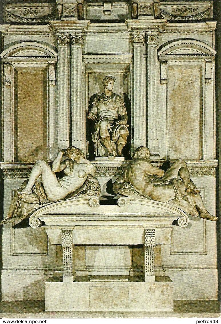 Firenze (Toscana) Cappelle Medicee, Tomba Di Giuliano De' Medici Di Michelangelo - Firenze