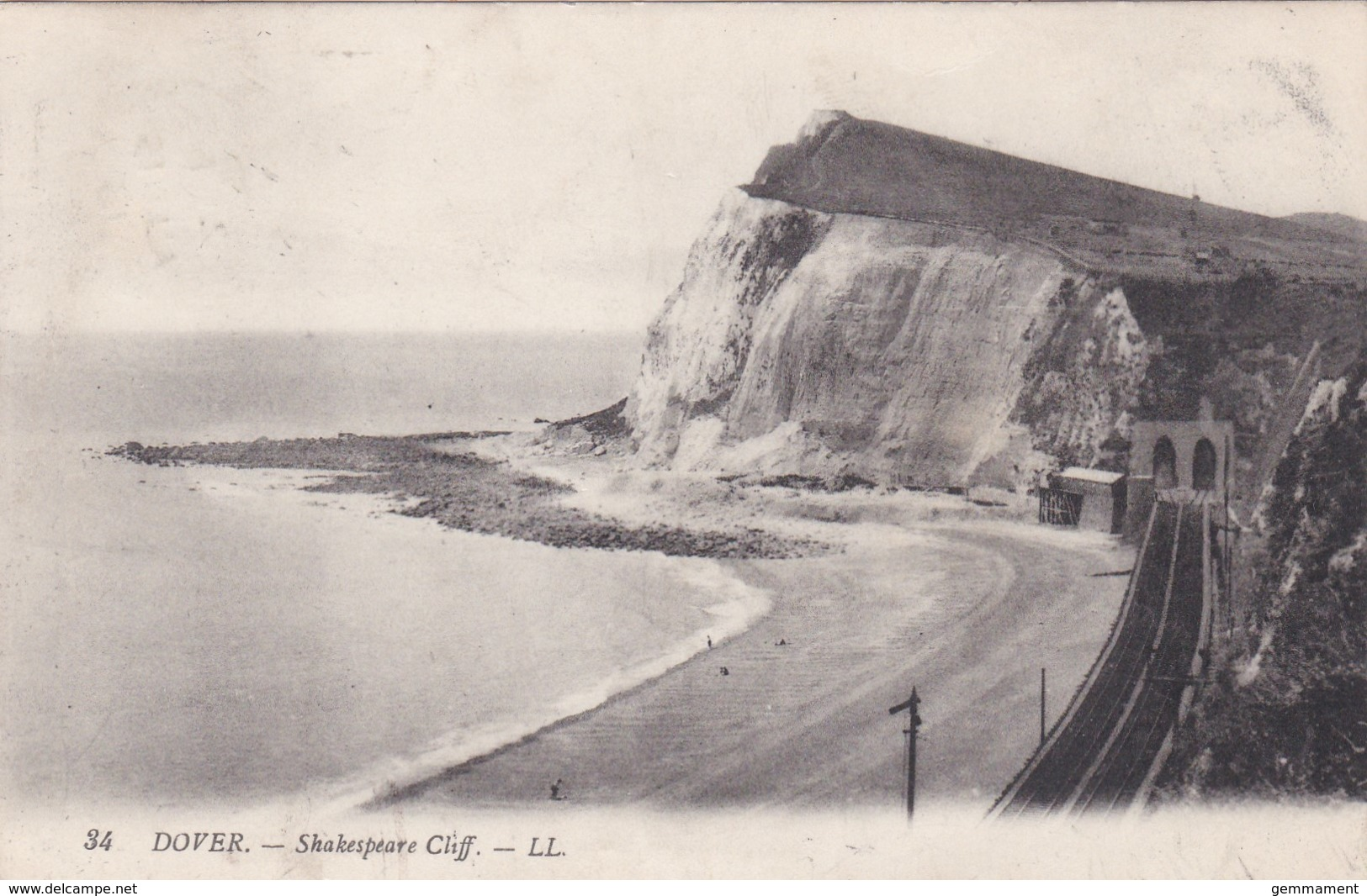 DOVER - SHAKESPEARE CLIFF .LL 34 - Dover