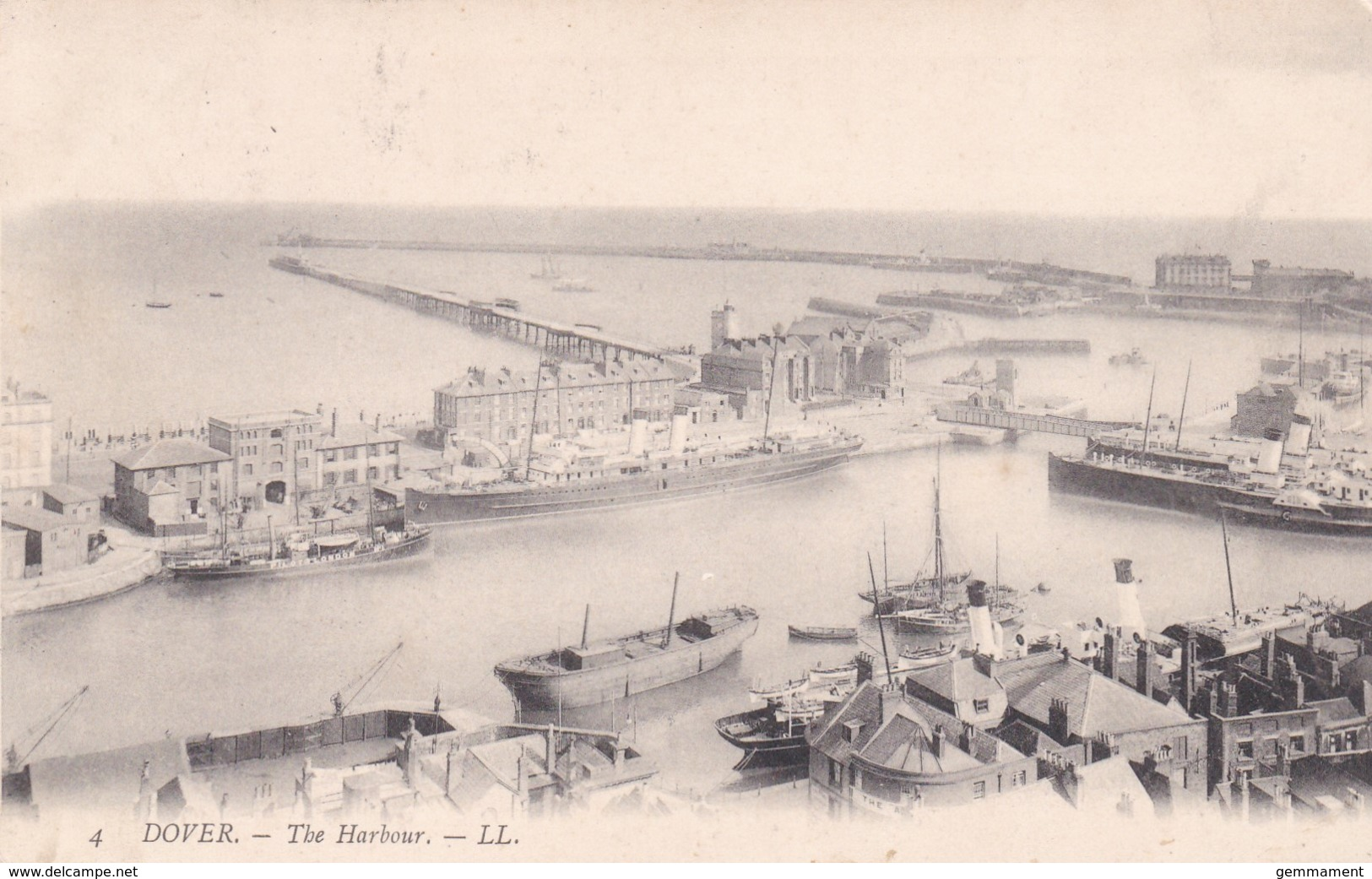 DOVER - THE HARBOUR  .LL 4 - Dover