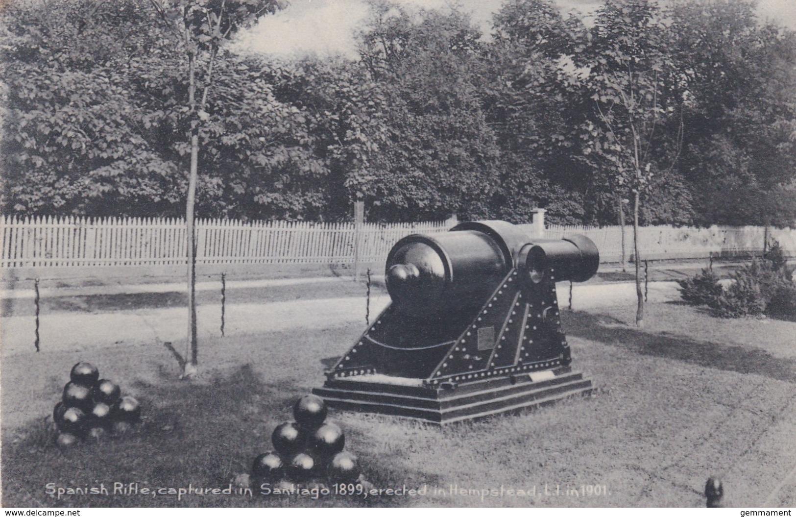 HAMPSTEAD - SPANISH RIFLE CAPTURED IN 1899 AT SANTIAGO - London Suburbs