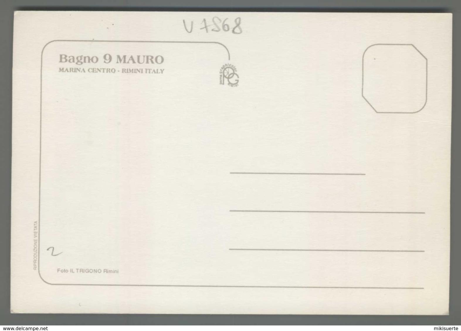 V7868 RIMINI MARINA CENTRO BAGNO 9 MAURO (m) - Rimini