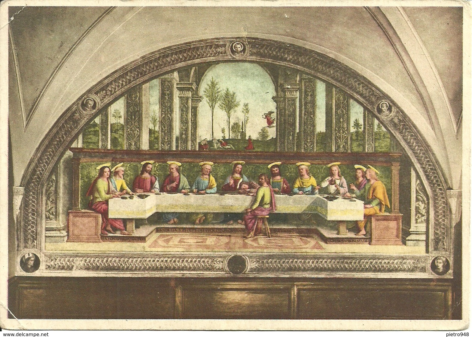 """Firenze (Toscana) Ex Convento Di Foligno """"Il Cenacolo"""" Perugino (Pietro Vannucci) - Firenze"""
