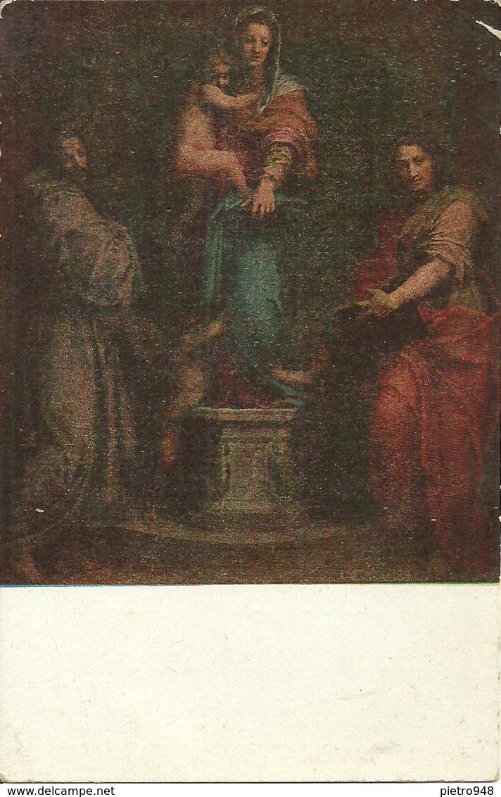 """Firenze (Toscana) Galleria Uffizi """"Madonna Delle Arpie"""" Andrea Del Sarto - Firenze"""