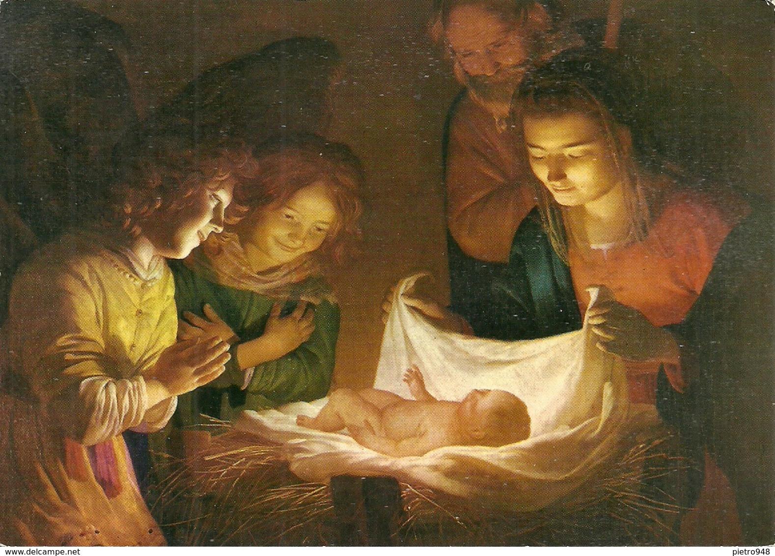 """Firenze (Toscana) Galleria Uffizi """"Adorazione Del Bambino"""" Gherardo Delle Notti (Gherardo Honthorst) - Firenze"""