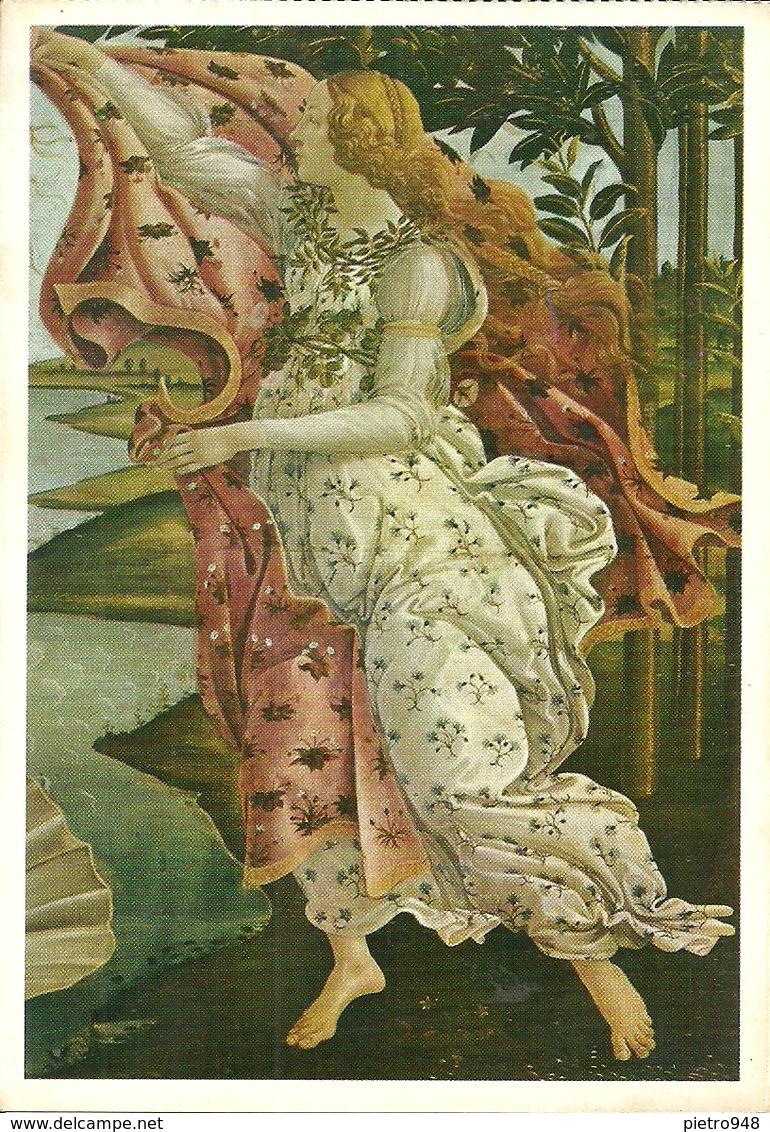 """Firenze (Toscana) Galleria Uffizi """"Nascita Di Venere"""" (part.) """"the Birth Of Venus"""" (detail) Botticelli - Firenze"""