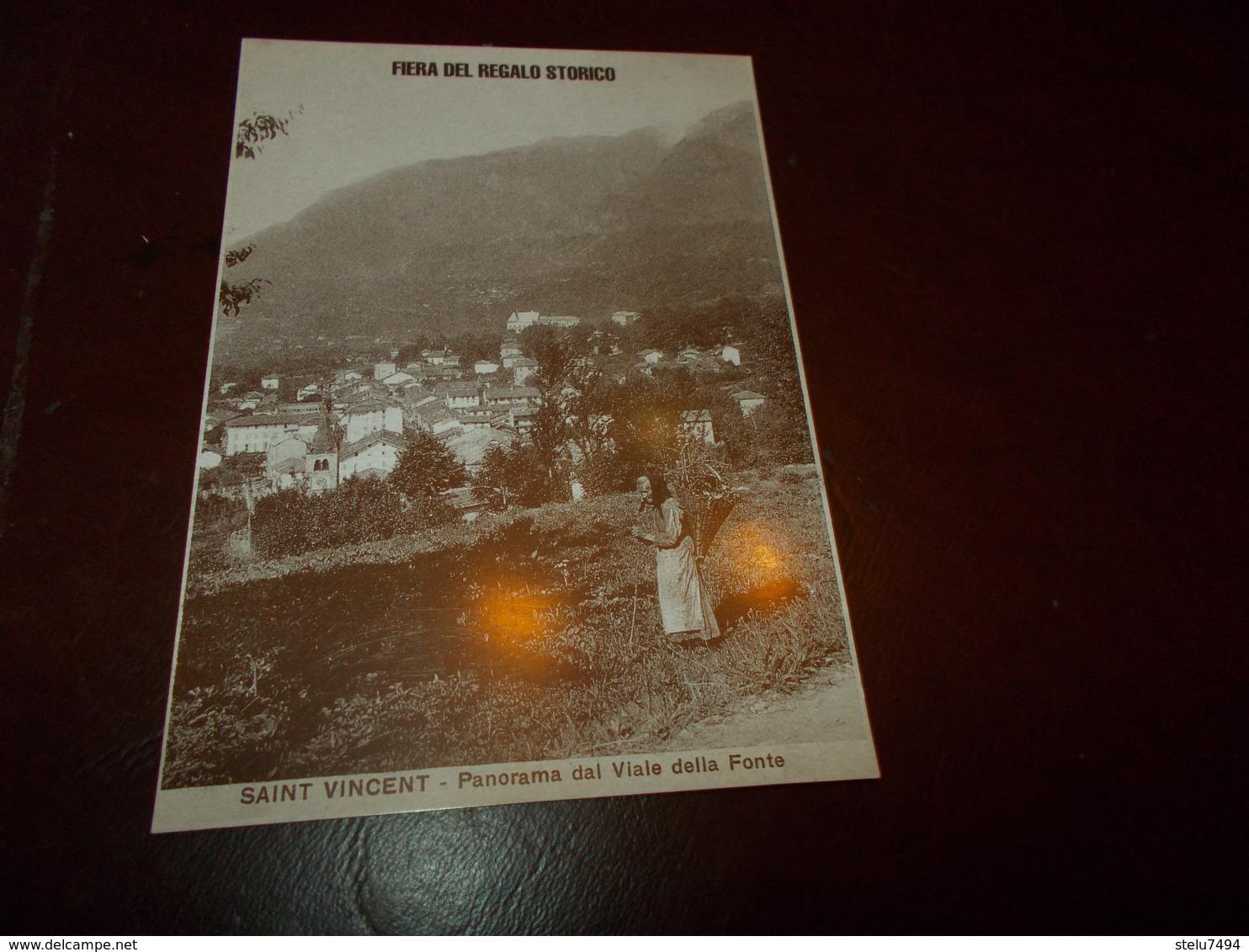 B712   Saint Vincent Fiera Del Regalo Storico - Altre Città