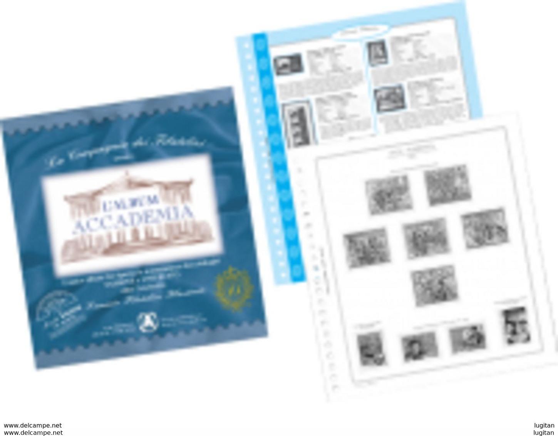 AGGIORNAMENTO ABAFIL - SAN MARINO - ANNO 2018  -  GEMELLAGGIO SAN MARINO ARBE NUOVO - Kisten Für Briefmarken