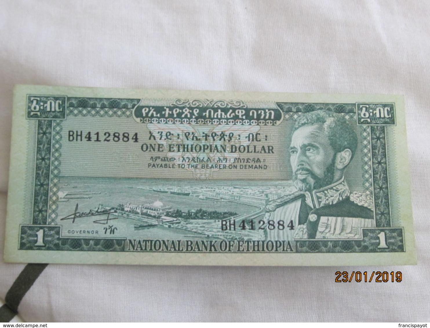 Ethiopie: 1 $ET 1966 UNC - Ethiopie