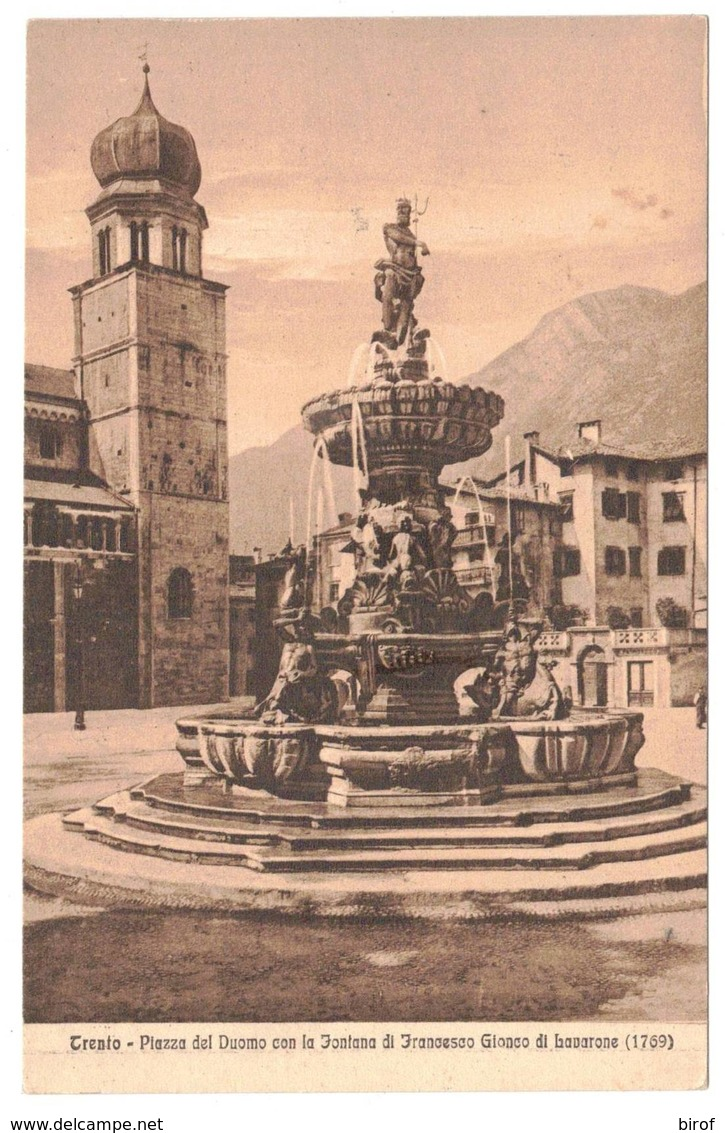 TRENTO - PIAZZA DEL DUOMO -     (TN) - Trento